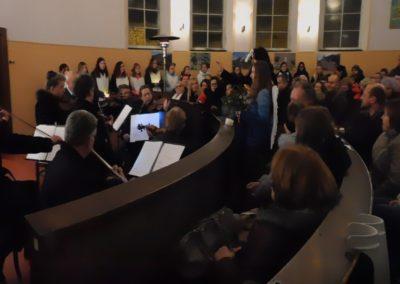 Pěvecký sbor a publikum