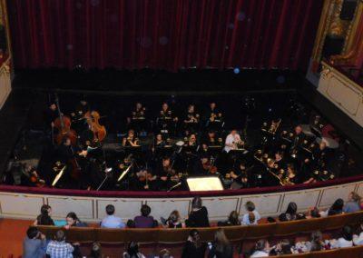 návštěva opery - orchest