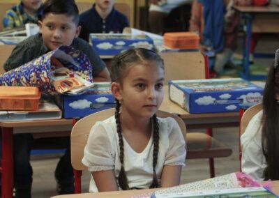 Poprvé ve školní lavici
